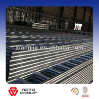 Scaffolding galvanized scaffold ladder beam for pipe and clamp system