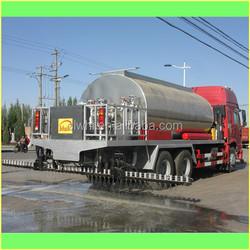 Sinotruk Howo 8 M3 Bitumen Tanker Synchronous Chip Sealer,Synchronous Chip Spreader