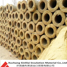 China supplier hot sale rock wool pipe insulation