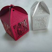 2015 new design filigree laser boxes for favor with high quanlity