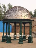 2015 new design wrought iron awing canopy