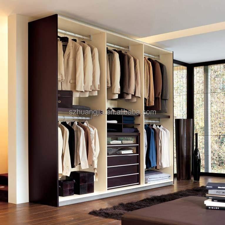 Latest Plywood Laminated Wooden Bedroom Closet Wood