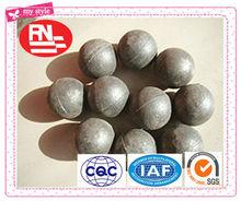 Los precios administrativos Aleación de alta dureza lanzó bolas de hierro, bolas de molienda de acero