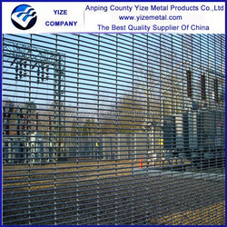 china wholesale South Africa ClearVu 358 mesh fence / Security ClearVu fences for garden