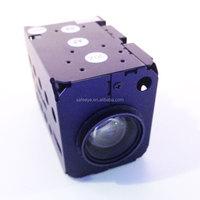 800tvl full screen OSD HD zoom camera module with 22x 27x 30x optical focus