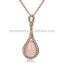 N1095 Special design fashionable opal necklace cute necklace colorful guitar shaped necklace