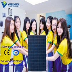 Special offer stock 300W Hyper Power Poly Solar Panle with TUV CE CEC certified