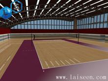 Ball pattern beautiful international standard volleyball anti-static pvc floor