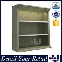 display shelf table,boutique display shelf,wood table top display shelf