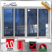 AS2047 Australia standard aluminum insulated double glazed tinted sliding glass doors
