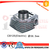 56.5MM Motorcycle Engine Parts Cylinder Block For Honda CB125 ACE CB1 KYY