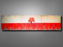 Modern Simple Scenery Abstract Painting Oil Wall Decor