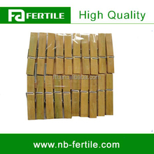 ZZB 215027 Eco-Friendly Bamboo Cloth Peg