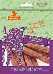Natural 100% Beef and Rice Stick dog chew bone