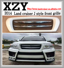 land cruiser front grille,J style front grille for LAND CRUISER FJ200 LC200