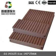 WPC Outside Flooring / Wood Plastic Composite / Eco-friendly Decorate outdoor WPC Decking