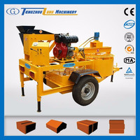 m7mi diesel engine paver block machine