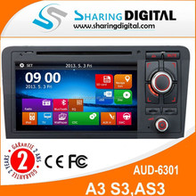 AUD-6301GD With GPS HD Screen Car DVD For S3
