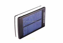 2015 new design high quality mobile solar power bank solar panel power bank, 15000mah power bank