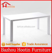 2015 new look home furniture dining table with MDF with high glossy painting