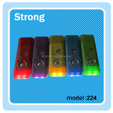 USB led Mini Flashlight for kids soft surface with logo printing
