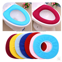 Warm washable toilet seat cover
