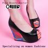beautiful wedge shoes fashion womens shoes high heel lady shoes CP6543