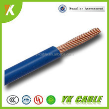 1mm 1.5mm 2.5mm 4mm pvc insulated electric copper wire