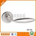 Aluminio y cristal de actualización de acero inoxidable entrada de aleación de Zinc y Glass Door tire de la manija de la puerta