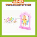 20cm plástico swing gordura baby doll