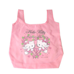 2014 new cartoon logo recycle polyester bag