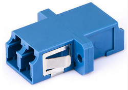 Duplex LC singlemode fiber optical adapter/sc type adaptor