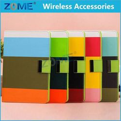 In Alibaba Color Ell Phone Pu Leather Wallet Stand Flip Cover Case For Ipad Mini 1