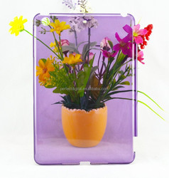 Flower transparent cover case for iPad mini
