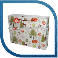 cheap small gift paper bags with handles
