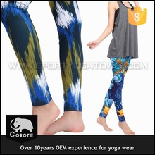 Nice design sweat and absorbent yoga gym wears for adult