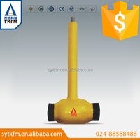 directly buried gas branch pipeline use 2 inch gas ball valve manufacturer