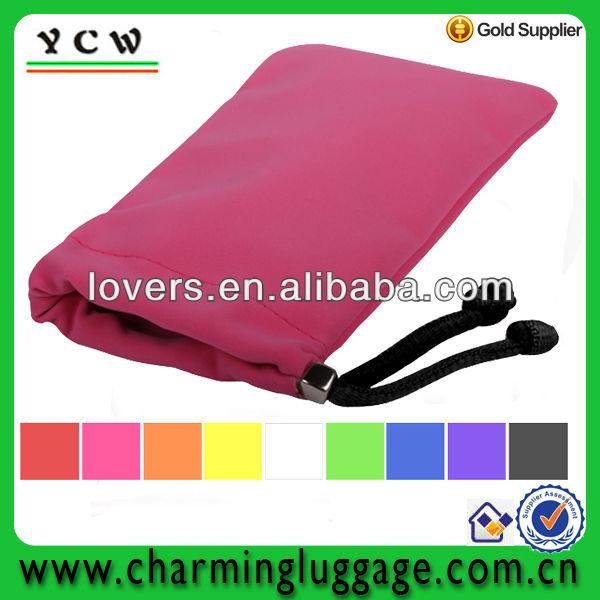 cellulare personalizzato sacchetto di velluto sacchetto del telefono copertina