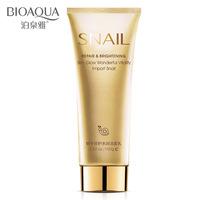 OBM/OEM snail repair skin whitening face cleanser