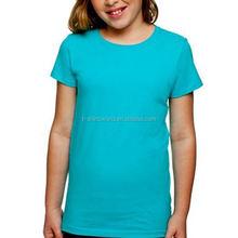 custom logo printing kid team t shirt