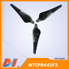 Maytech 9443 3 blades foldable DJI Phantom professinal carbon propellers for Aerial Drone Photography and Videography
