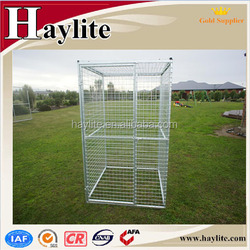 galvanized outdoor iron fence dog kennel manufacturer