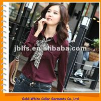 ladies Korean style formal business blouse, casual shirt