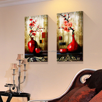 High quality decorative daisies flower oil painting on canvas