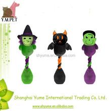 Halloween Rope Dog Toys Plush Pet Toys