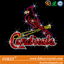 St. Louis Cardinals rhinestone hotfix iron on transfer