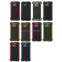 Hybrid PC Silicone Case For HTC One M8