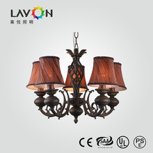 antique bedroom pendant lighting with 5 lamp holders