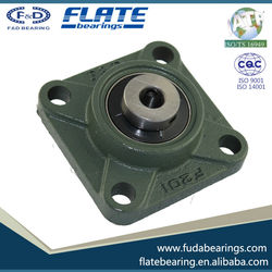 2015 F&D FLATE UCF207 Gcr15 High Precision bearing for High speed low noise high automobile motorcycle made in china