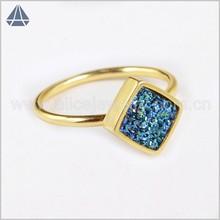 Wholesale fashion ring 2015 Ring titanium gemstone